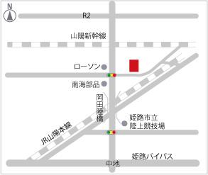 KUSUNOKI CUSTOM WORKSマップ